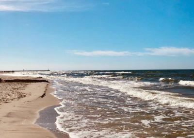 Pensjonat Brzozowa Oaza Mrzeżyno polskie morze